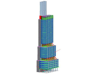 Architectural Tower Model