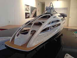 Luxury Yacht Model