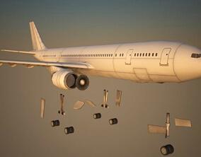 Model plane set for Los Angeles