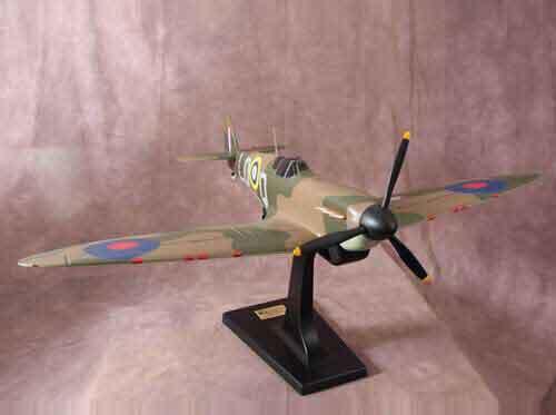 Spitfire model side view