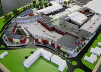 Hatfield Town Centre Model