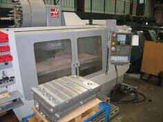 One of our 11 CNC machining centres used for machining tooling and architectural model sections