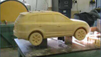 CNC machining used to produce this 4x4 from the manufacturers 3D model data