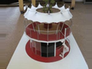 Coffee Shop Architectural Model