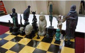 model of chess