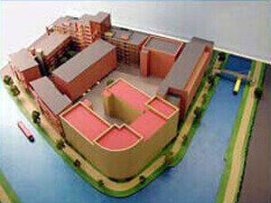 Crown Wharf Model