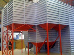 Grain Dryer architectural model