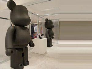 window display model bears